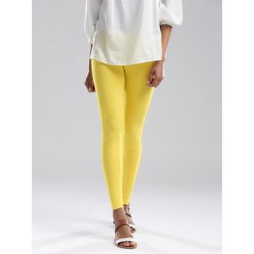 Yellow Ankle Leggings